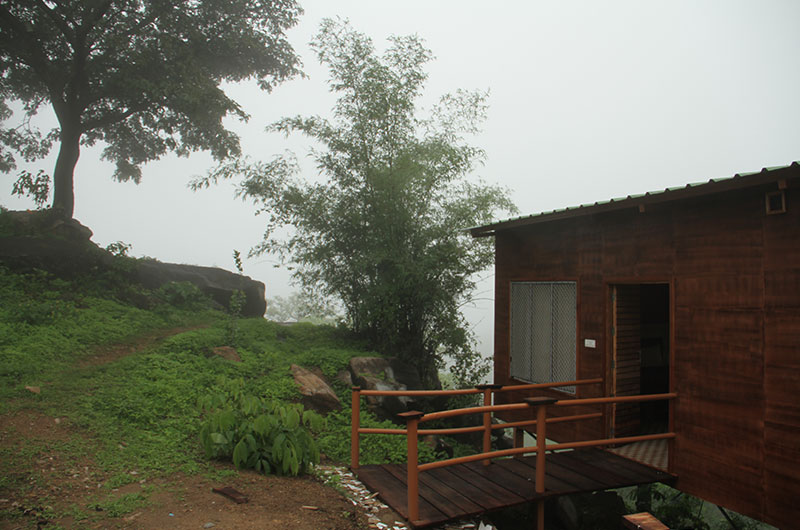 Wooden Cottage Room at Forest Eco Lodge, Mount Abu